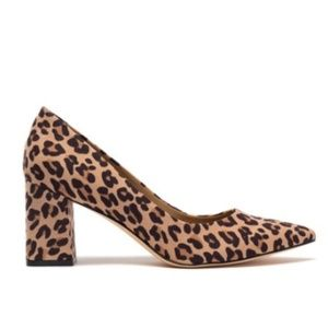 14th & Union NEW Womens 12 Leopard Block Heels